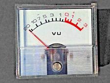 Anders KM-66 100uA Panel VU Meter Kyoritsu micro DC NOS