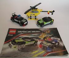 Lego #8152 Racers Speed Chasing, Glow in the dark, 142 pcs, ages 6-12 (Retired)