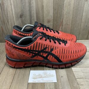 Asics Gel Quantum 360 Running Shoes Orange/Black (T5J1N) Mens Size 12