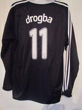 Chelsea 2008-2009 Drogba 11 CL Away Football Shirt LS Size XL  /42046