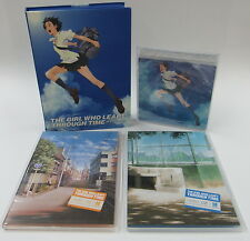 Limited Edition The Girl Who Leapt Through Time DVD 2008 2-Disc Set Bandai + CD