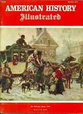 AMERICAN HISTORY ILLUSTRATED Dec 1968 - SIMON GIRTY, PANAMA CANAL, EDMUND ROSS