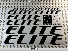 ELITE Stickers Decals Bicycles Bikes Cycles Frames Forks Mountain MTB BMX 59E