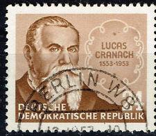 Germany Famous Artist Lucas Cranach stamp 1953