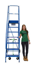 NEW Industrial Warehouse Safety Steps, Mobile Ladders ** FREE DELIVERY **