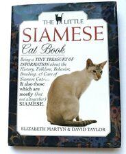 The Little Siamese Cat Book by David Conrad Taylor, Elizabeth Martyn