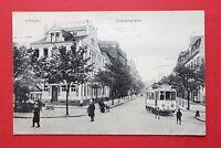 AK LANDAU 1915 Blick in die Ostbahnstrasse mit Strassenbahn    ( 35798