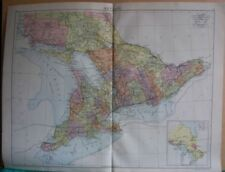 Antique North American Maps & Atlases Ontario