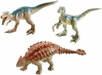 "Jurassic World Fallen Kingdom Mini Dino 3 Pack Mini Action Dinos with ""Blue"" NEW"