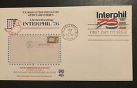 COMPLETE FLEETWOOD FIRST DAY COVER STAMP SET #1632 INTERPHIL, 76' MINT CONDITION