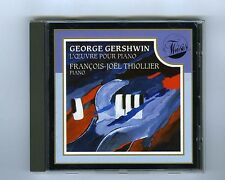 CD GERSHWIN PIANO WORK FRANCOIS JOEL THIOLLIER