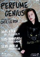 PERFUME GENIUS - 2010 - Tourplakat - In Concert - Learning - Tourposter