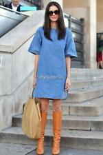 STELLA MCCARTNEY Blue denim dress UK12 IT44 New Auth