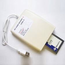 New USB 2.0 To 68 Pin ATA PCMCIA Flash Disk Memory Card Reader Adapter Converter
