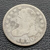 1820 Capped Bust Dime 10c Better Grade #30442