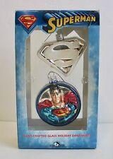 Christmas Tree Ornament Superman DC Comics Kurt S Adler Ornaments Holiday Lights