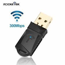 Clé Wifi 300 Mbps sans fil - USB WiFi adaptateur -Utral-Rapide Clé Wifi sans fil
