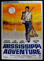 Werbeplakat Mississippi Adventure Macchio Seneca Gertz Walter Hill M303