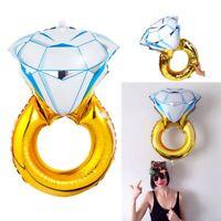 30'' Propose Diamond Ring Foil Helium Balloon Wedding Engagement Hen Party Decor