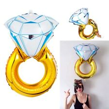 30'' Propose Diamond Ring Foil Helium Balloon Wedding Engagement Hen Party Decor