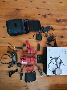 DJI MAVIC PRO PLATINUM FLY MORE COMBO deadpool Skinned. Drone. 4K drone
