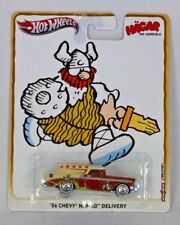 Hot Wheels Mattel 2012 Hagar The Horrible 56 Chevy Nomad Delivery Real Riders