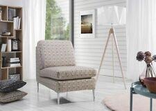 Fauteuil Salon Design Chaise Rembourrage Canapé 1 Places Relax Tournant