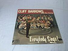 Cliff Barrows Vinyl LP Everybody Sings VG