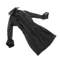 1/12 PU-Leder Jacket Mantel Lederjacke Bekleidung für 6 Zoll Actionfigur