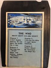 The Who 1971 Meaty Beaty Big And Bouncy 8 Track Tape ElectronicsRecycled.com