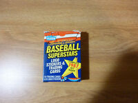 FLEER LIMITED EDITION 1987 BASEBALL SUPERSTARS COMPLETE SET 44 CARDS 6 STICKERS