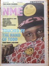 NME 5/11/88 Todd Terry cover, Billy Bragg, The Human League, Barry Adamson