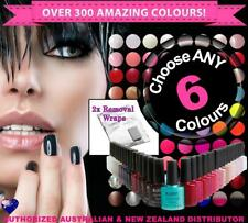 ANY 6x Bluesky SoakOff Gel Polish! Choose From Over 300 Colours+ 2xWraps