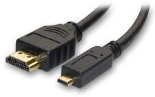 PCX CX900 6ft micro HDMI camera TV cable for Sony CX675 CX455 CX440 CX405 CX240