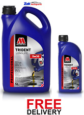 MILLERS TRIDENT LONGLIFE 5w30 Fully Synthetic Performance Engine Oil - 6L