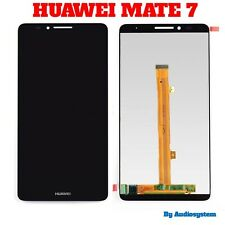 "GLS DISPLAY LCD +TOUCH SCREEN PER HUAWEI ASCEND MATE 7 MT7-TL10 NERO 6"" VETRO"
