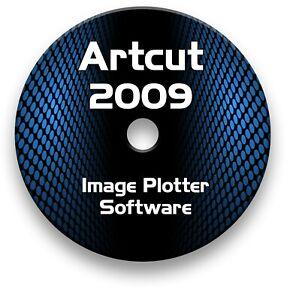 ARTCUT 2009 SOFTWARE VINYL CUTTER PLOTTER - PRO SIGN MAKING