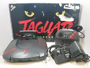 Atari Jaguar Console in Box w/ Cybermorph, Controller, & Cables Tested