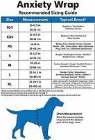 ANXIETY WRAP FOR DOGS BEHAVIOR TRAINING SMALL /XS / XXS / TOY