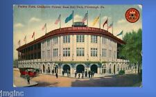 Forbes Field, Pirates Base Ball Park Postcard reproduction  Postmarked 5/25/1911