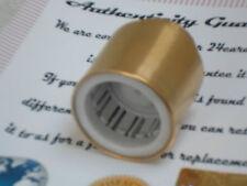 24K Acero Inoxidable Chapado en Oro 24ct cubierta de la botella de Champán Tapón de Vino Vacío