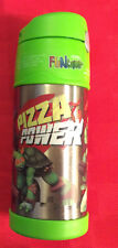 Thermos 12 Ounce Bottle Mutant Ninja Turtles FUNTAINER  Stainless w sipper straw