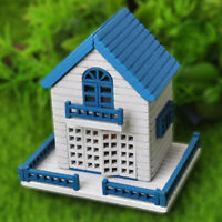 1:12 Dollhouse Miniature DIY Doll House Kits Assembly House Handcra mi