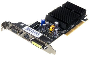 GEFORCE 6200LE GRAPHICS CARD AGP 256MB DDR2