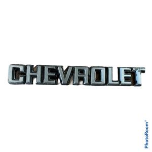 1980 Malibu OEM Rear Trunk Deck Lid Chevrolet Emblem Badge Logo 83 82 81 80 79