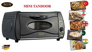 AGM Mini Tandoor Oven Lahmacun Manakish Pizza Chapati Roti Naan Bread Maker