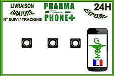 3 LENTILLES APPAREIL PHOTO IPHONE 4 - IPHONE 4S / LENS CAMERA IPHONE 4 - 4S