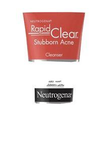 Neutrogena Rapid Clear Stubborn Acne Face Wash 5 Fl Oz