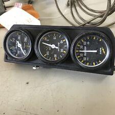 Autogage Mechanical 3 Gauges - Water Temp Amps & Pressure Gauges
