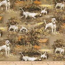 Fat Quarter Wild Wings Point North Gun Dogs Cotton Quilting Fabric